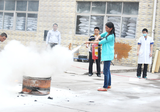 Fire safety drill