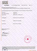 DMF free certificate